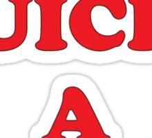 Give Quiche A Chance Sticker