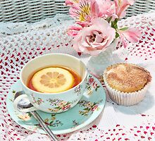 Afternoon Tea by Barb Leopold