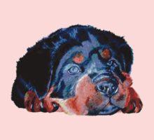 Pop Art RottweilerPuppy Kids Clothes
