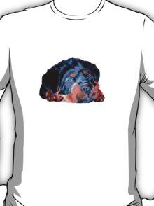 Pop Art RottweilerPuppy T-Shirt
