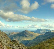 Bowfell Views by Jamie  Green