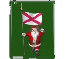 Santa Claus With Ensign Of Northern Ireland iPad Case/Skin
