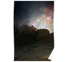 Hogmanay Fireworks, Edinburgh 2010 Poster