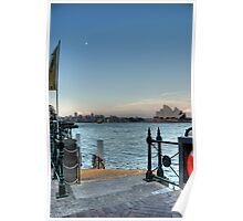 Moonlight at the Quay Poster