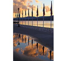 Pier Reflections Photographic Print