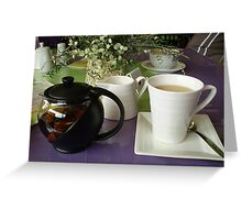 Time for a cuppa - Mornington Bus Trip Greeting Card