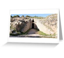 Tomb Greeting Card
