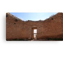 Inside Tomb Canvas Print