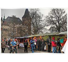 Festival under castle Poster