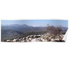 Mycenae Mountains Poster