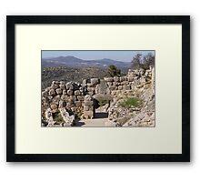 Lion Gate Framed Print
