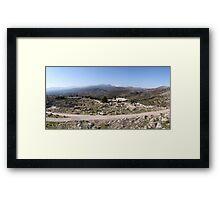 Mycenae Citadel Framed Print