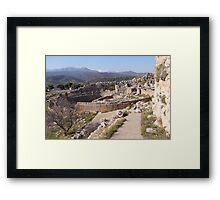 Mycenae Framed Print