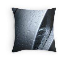 wet wing Throw Pillow
