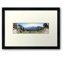 Omphalos Framed Print