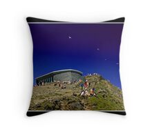 Mount Snowdon  Throw Pillow