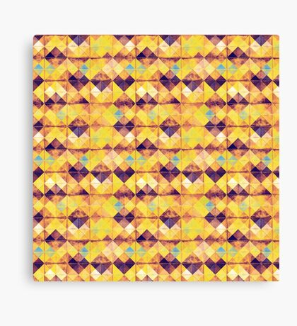 Painterly pattern Canvas Print