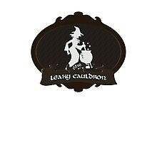 The Leaky Cauldron Photographic Print