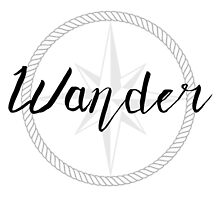 Wander - compass by ourtinyinfinite