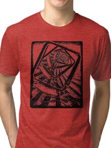 The Designer Designing Tri-blend T-Shirt
