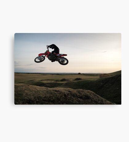 Motor X closeup Canvas Print