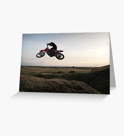 Motor X closeup Greeting Card