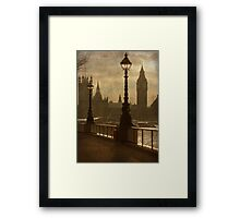 Old London [circa 2010] Framed Print