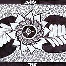 Doodle Flower by Devi Senthil