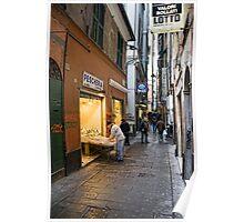 Alleys of Genoa 3 Poster