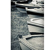 Boats in a row Photographic Print