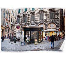 Alleys of Genoa 6 Poster