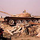 Last Iraqi Tank   by Charles Buchanan