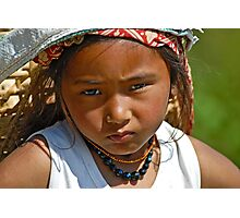Nepali girl (III) Photographic Print