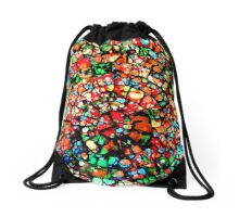 In the world as we see it and Not missed it :) Drawstring Bag