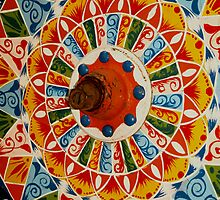 Ox Cart Wheel, Costa Rica by Guy C. André Tschiderer