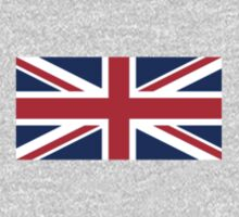 Flag of Great Britain - UK Flag Duvet Cover Sticker and Shirt One Piece - Short Sleeve