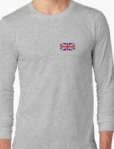 Flag of Great Britain - UK Flag Duvet Cover Sticker and Shirt Long Sleeve T-Shirt