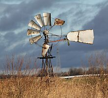 Old windmill on a rainy day 2 by DutchLumix