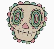Pastel Sugar Skull by Pip Gerard