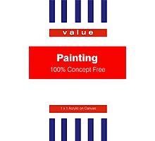 No Frills Painting Photographic Print