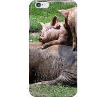 Piggy Back iPhone Case/Skin