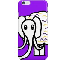 Wooly mammoth cotton candy iPhone Case/Skin