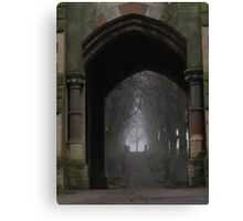 Ethereal route Canvas Print