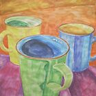Mugs 2 by Christopher Clark