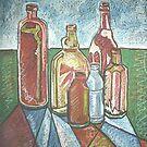 Bottle Still Life by Christopher Clark