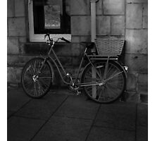 St. Andrews Bicycle Photographic Print