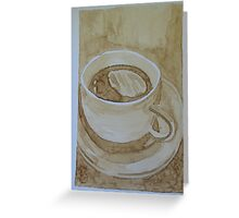 Coffee3 Greeting Card