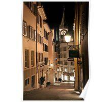 Zürich Altstadt Poster