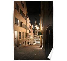 Züri Altstadt Poster