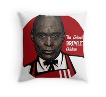 KFC Fringe Science Throw Pillow